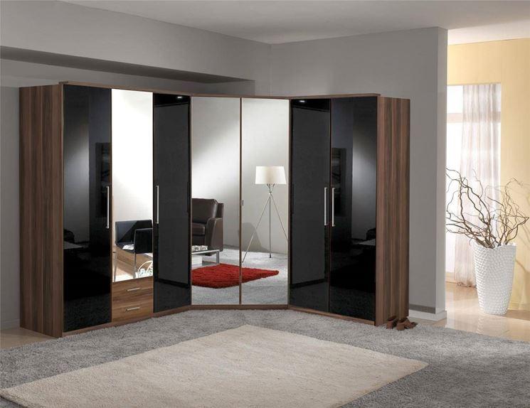 armadio angolare camera da letto - mobili - armadio angolare per la