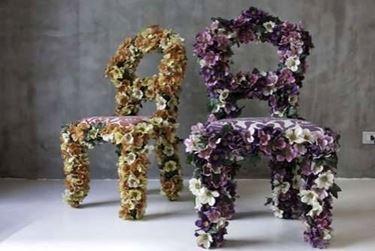 sedie a fiori