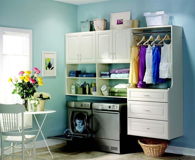 Arredo lavanderia mobili come arredare lavanderia - Arredo per lavanderia di casa ...