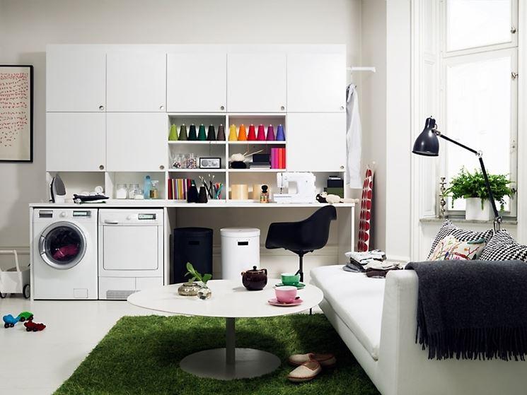 stanza per lavanderia