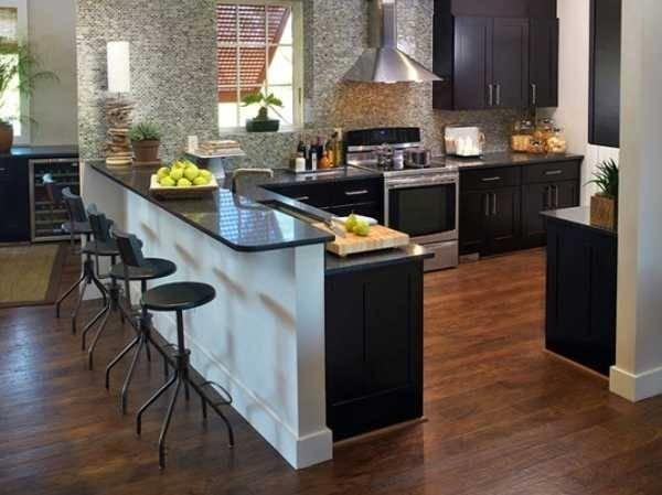 Cucina a penisola mobili - Penisola per cucina ...