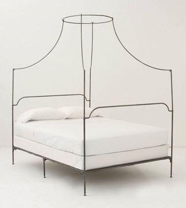 letto ferro battuto moderno