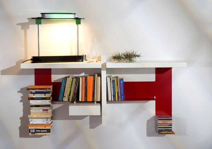 libreria modulare a parete
