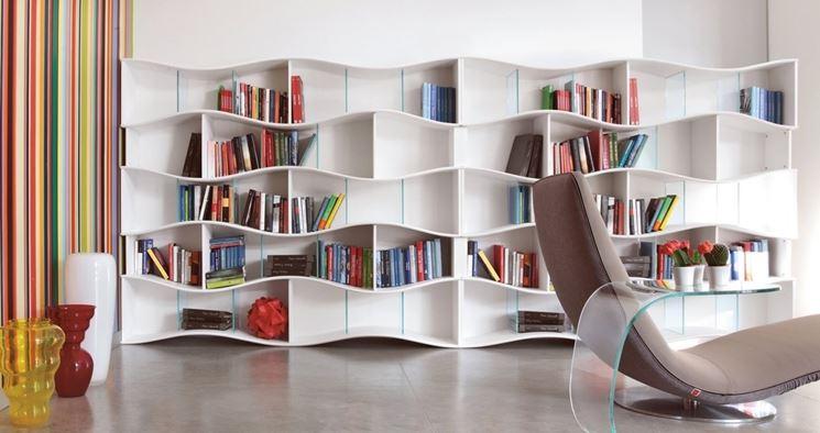 libreria modulare a Onda