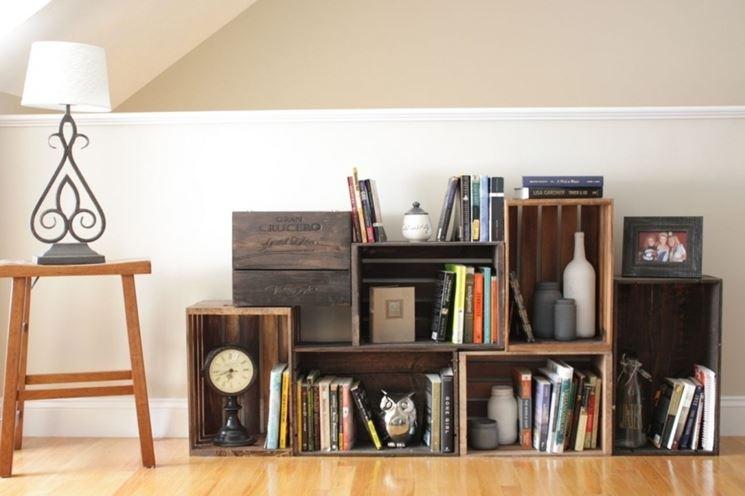 libreria modulare fai da te