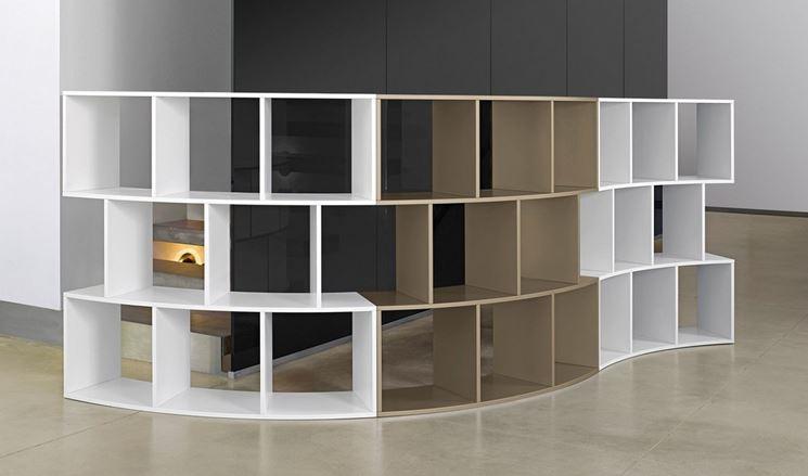 Librerie curve mobili modelli ed idee per le librerie for Acquisto libreria