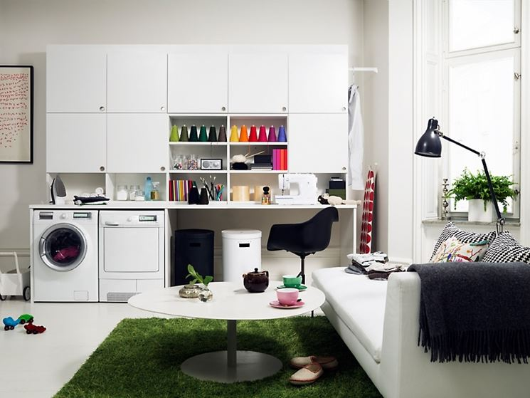 Arredo Bagno Lavanderia Ikea.Arredo Lavanderia Mobili Come Arredare Lavanderia