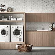 Mobile per lavatrice moderno