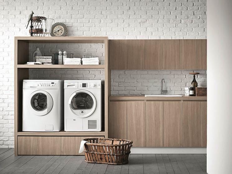 Mobile per lavatrice mobili tipologie di mobili per - Mobili per lavatrice ...