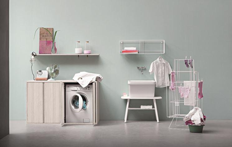 Mobili per lavatrice