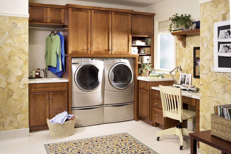 Esempio di mobile porta lavatrice