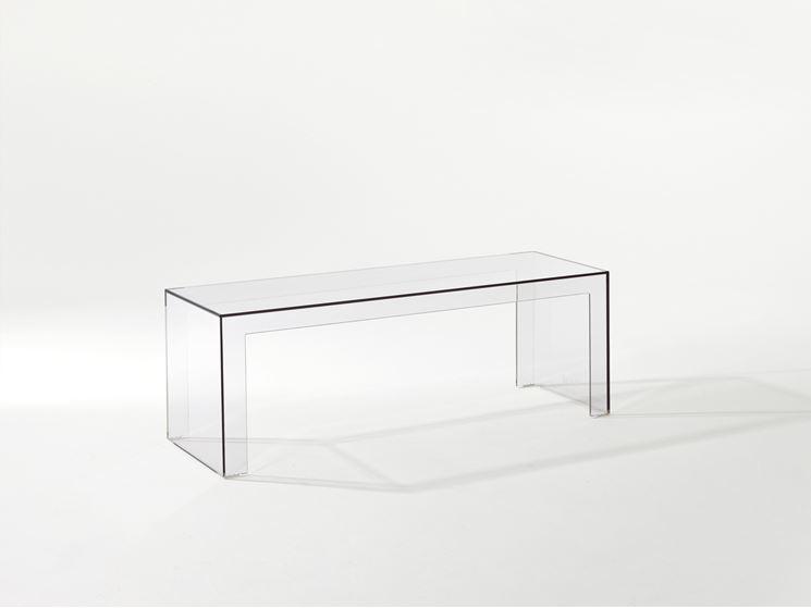comodini trasparenti