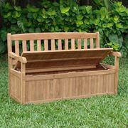 Panca contenitore in legno