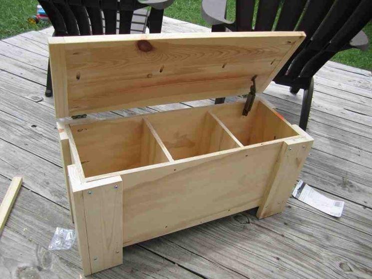 Panca contenitore mobili costruire panca contenitore - Costruire un mobile in legno ...
