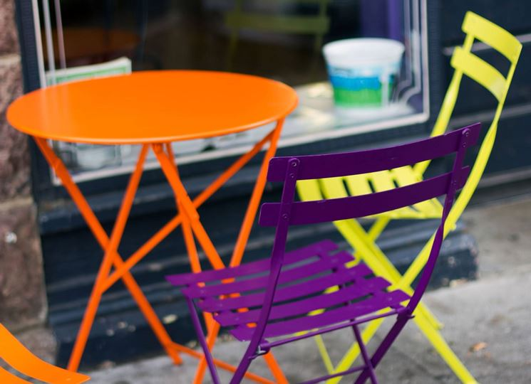 stili sedie colorate