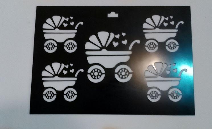stencil per mobili