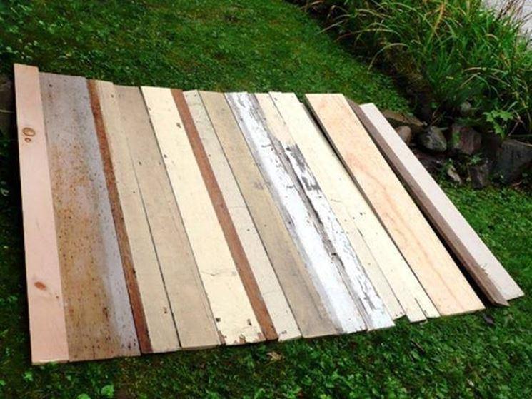 Testata in legno