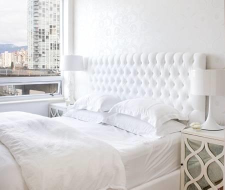 Testiera del letto mobili - Testata del letto imbottita ...