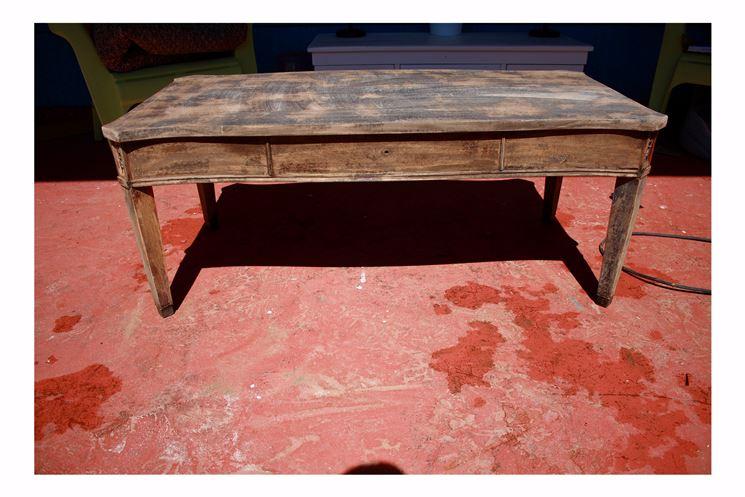 sgrossatura tavolo