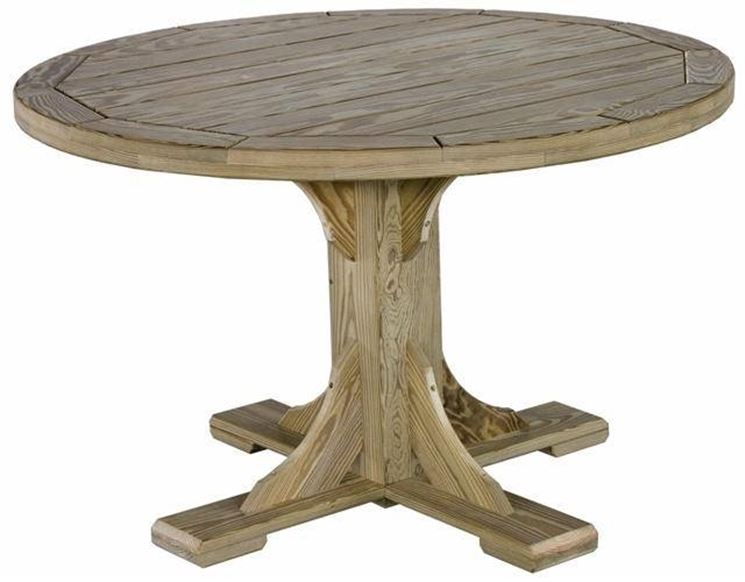 Tavolo rotondo tavoli - Costruire tavolino ...
