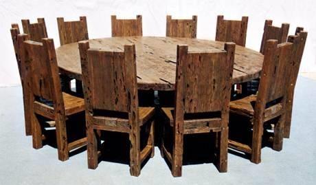 Costruire Un Tavolo Rotondo In Legno.Tavolo Rotondo Tavoli