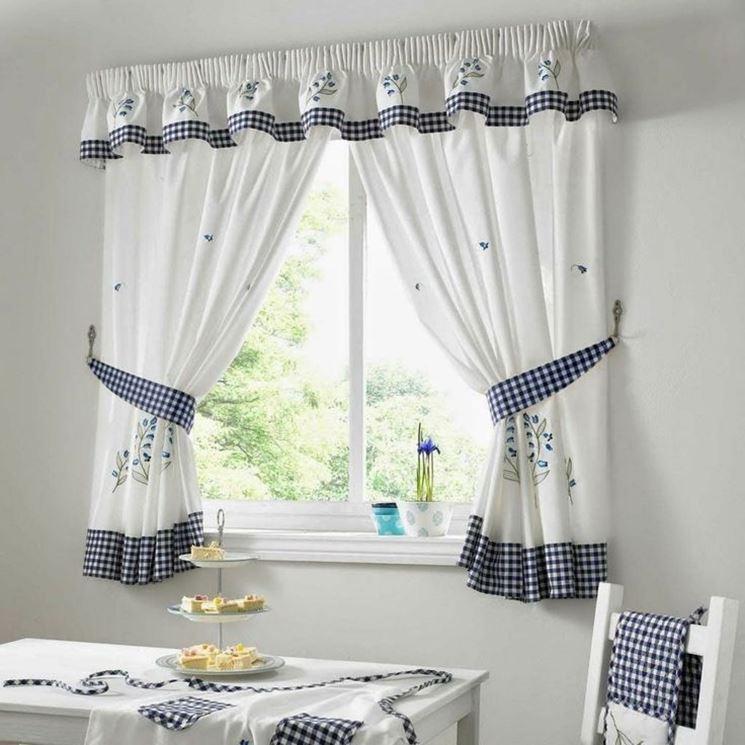 Mantovane per tende - Tendaggi - Tipologie di mantovane per tende