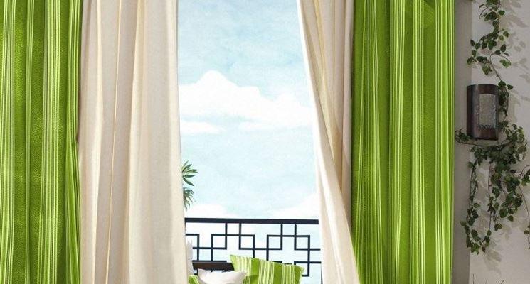 Tende Per Finestra Piccola : Tende per finestre tendaggi