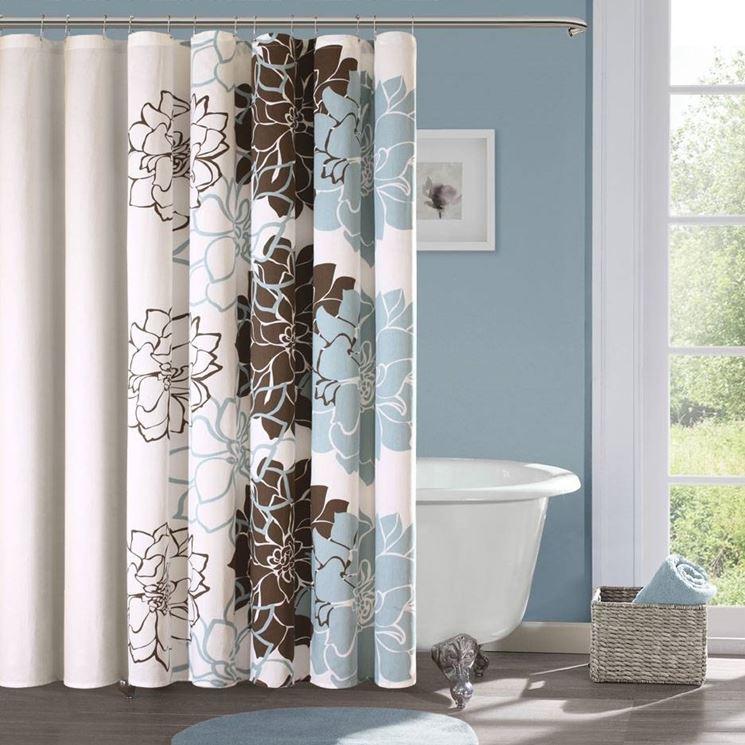 Tende per vasca da bagno tendaggi - Tende per bagno moderno ...