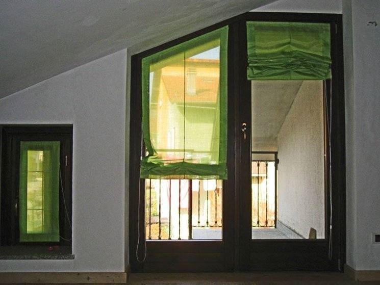 Beautiful tende a vetro per cucina contemporary home for Tende a vetro salotto