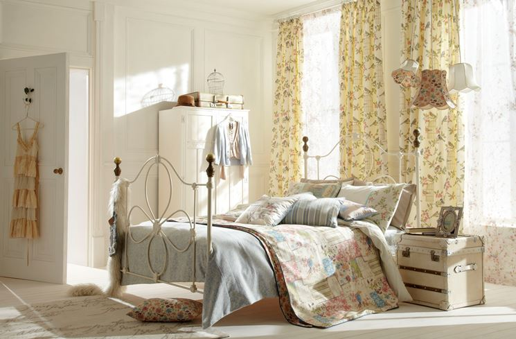 tende shabby chic - tende - idee per tende shabby chic - Tende Country Per Camera Da Letto