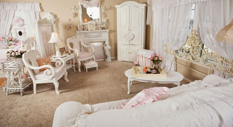 Tende shabby chic tende idee per tende shabby chic for Tendoni da sala