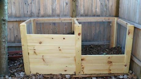 Composter fai da te attrezzi da giardino for Costruire compostiera