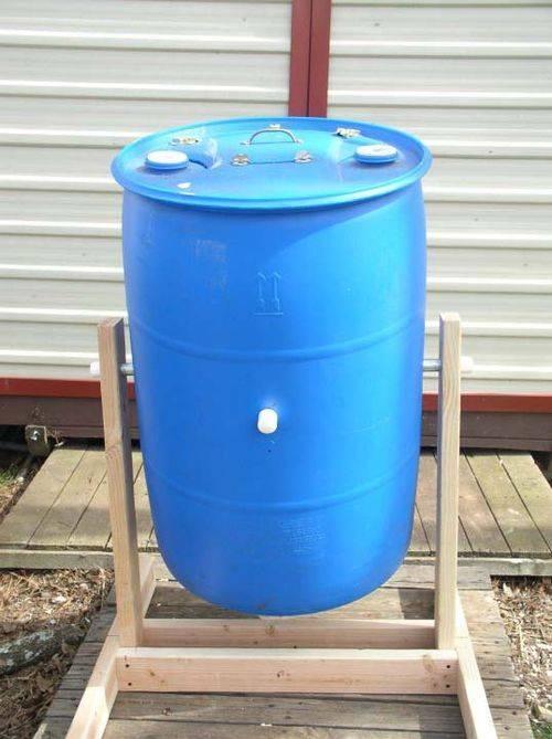 Composter fai da te attrezzi da giardino - Compost casalingo ...