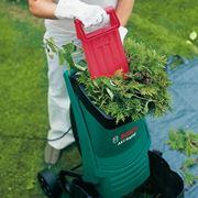esempio di trituratore per giardino elettrico
