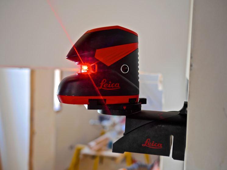 Livella elettronica laser