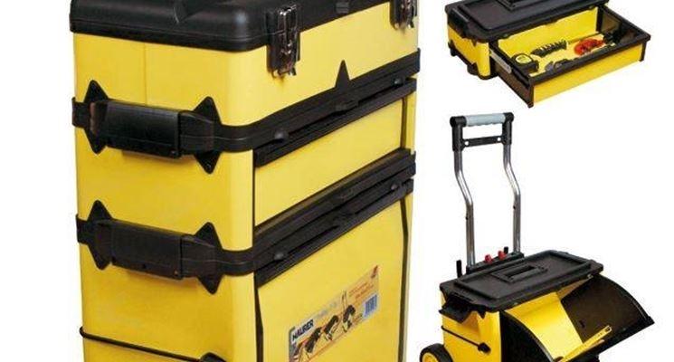Trolley porta attrezzi attrezzi fai da te - Cassetta porta attrezzi stanley con ruote ...