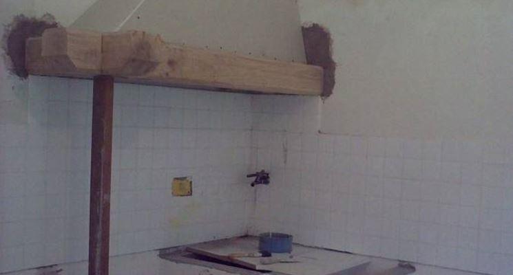 Cappe in muratura componenti cucina - Costruire cappa cucina ...