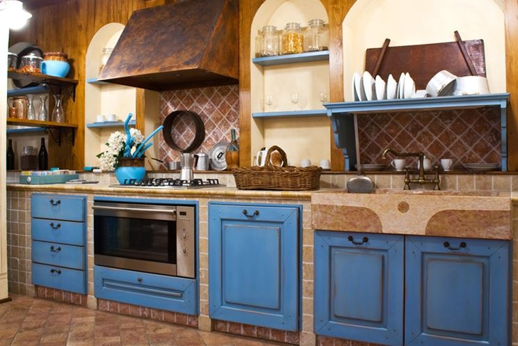 Awesome Cappe Cucina In Muratura Images - Skilifts.us - skilifts.us