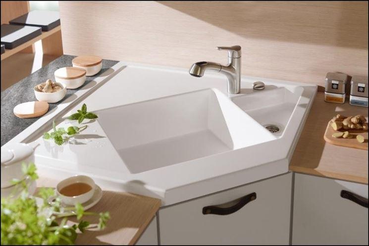 Dimensioni lavelli componenti cucina conoscere le dimensioni dei lavelli cucina - Lavello cucina angolare ...