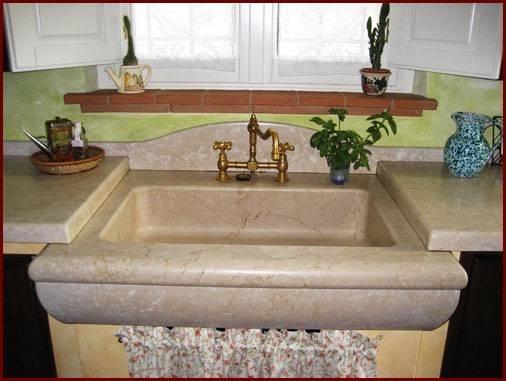 lavelli cucina marmo - Componenti cucina