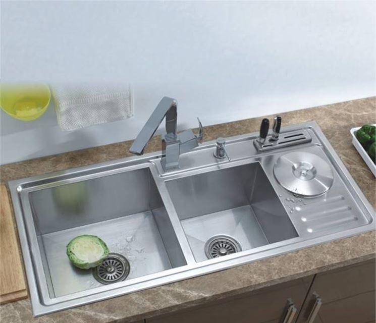 Lavandini da cucina in acciaio boiserie in ceramica per bagno - Lavandini da cucina in ceramica ...
