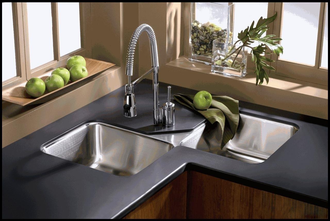 Lavello ad angolo componenti cucina for Lavello cucina ad angolo