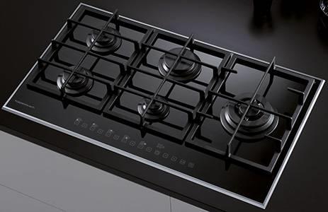 Piano cottura 5 fuochi - Componenti cucina