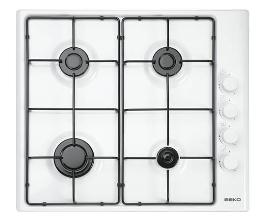 Piano cottura bianco componenti cucina for Piano cottura cucina