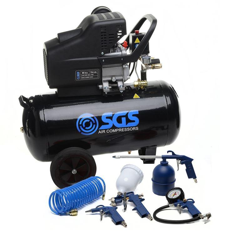 Compressore 50 litri e utensili