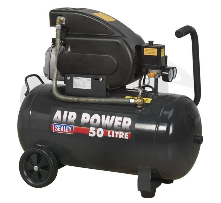 Compressore 50 litri Sealey