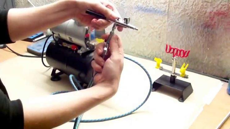 Aerografia compressore