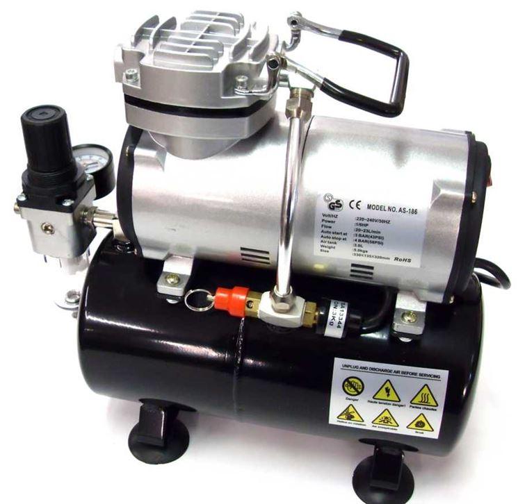 esempio compressore aria