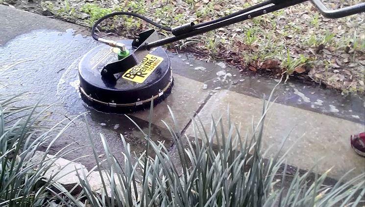 spazzola per idropulitrice per pavimenti