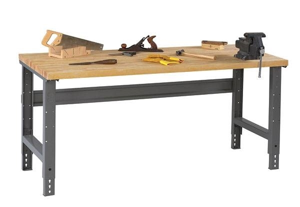Tavolo Da Lavoro Legno Usato : Costruire banco da lavoro officina con tavolo da lavoro cucina le